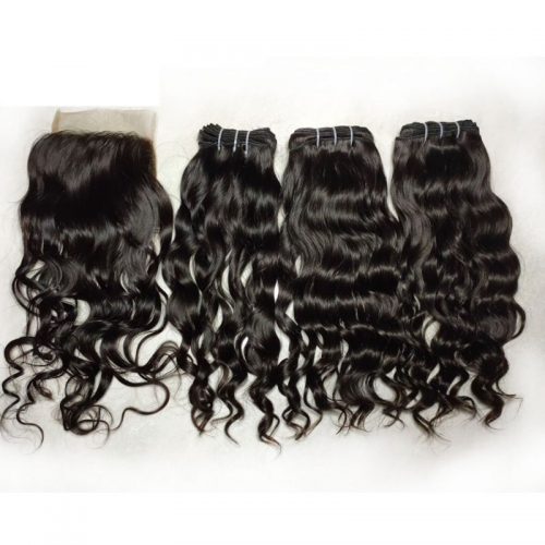 Grade 12A Cambodian Hair Raw Cambodia Human Hair Can Be Bleached Raw Cambodian Virgin Cuticle Aligned Hair From One Doner