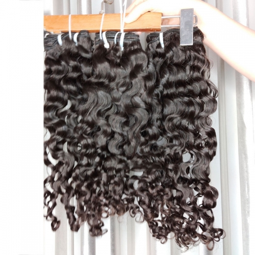 New Arrival Unprocessed Human Hair Grade 12A Virgin Cuticle Aligned Cambodian Loose Deep Wave Hair Can Be Bleached Blonde Color