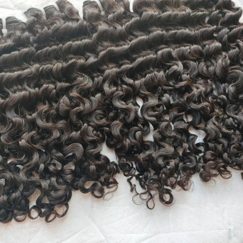 100% Virgin Burmese Hair, 12A 100% Unprocessed Virgin Burmese Curly Human Hair Weave Bundles