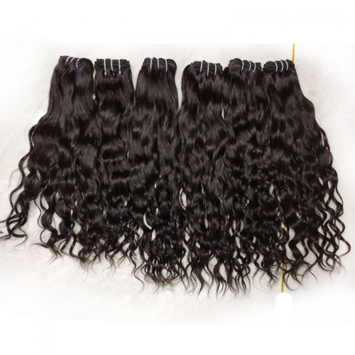 New Natural Wave Hair Style Virgin Cuticle Aligned Cambodian Wavy Hair Can Be Bleached 100% Raw Cambodian Hair Weaving