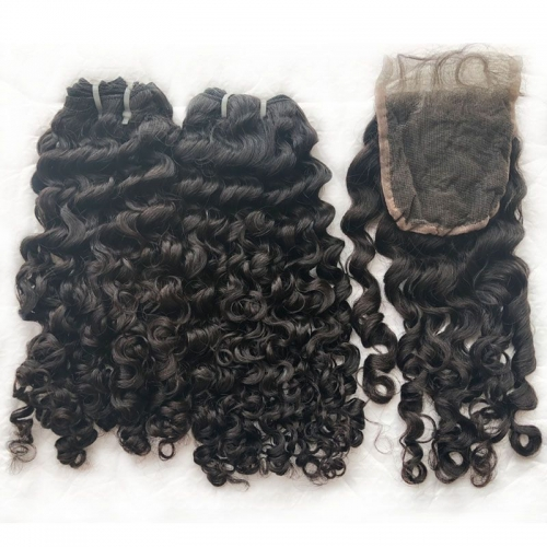 Wholesale Factory Price Burmese Curly Hair Vendor Unprocessed Human Deep Curly Raw Burmese Curly Virgin Hair For Women