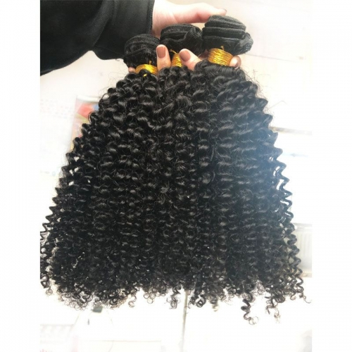 Grade 12A Mongolian Virign Hair 3B3C Afro Kinky Hair Best Quality Kinky Curly 100% Human Hair Extensions For Black Women