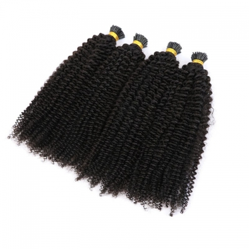 Thick End Natural Color 4A Wholesale Machine Itip Human Hair