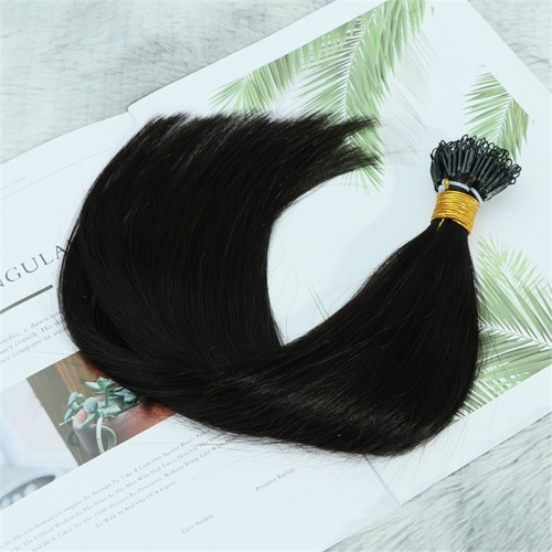 Raw Cuticle Aligned Straight Wholesale India Hair Extension Human Hair I Tip