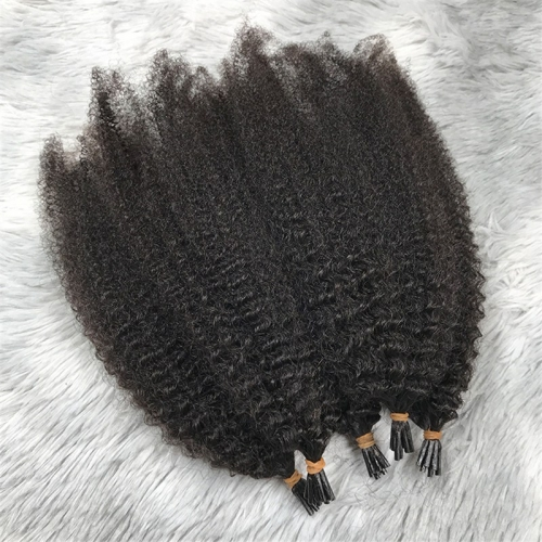 Brazilian Most Popular Raw Unprocessed Cuticle Aligned 100% Virgin Human Hair I Tip Hair Extensions