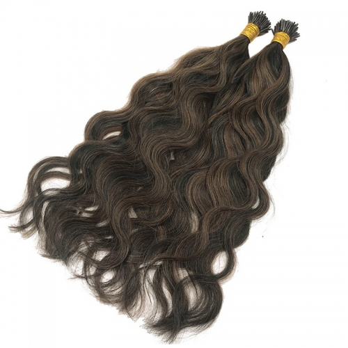 Factory Price Real Raw Remy Human I Tip Hair Extensions Wholesale India