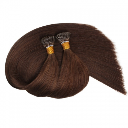 Wholesale Factory Price Remy 100% Raw Cuticle 18 20Inch Human Hair Pre-Bonded Kinky Brazilian Hair I-Tip