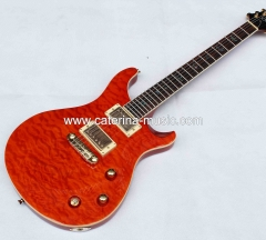 PRS style electric guitar