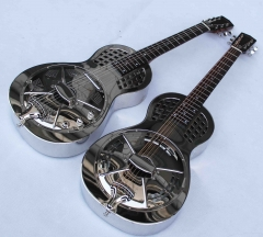 1611 metal body resonator guitar