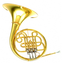 FH-701 Single French Horn 3 keys