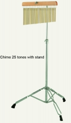 25 tones Chime with stand