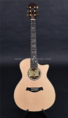 916 handmade solid wood  acoustic guitar, ebony fingerboard