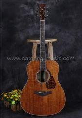 "FG850 41"" solid mahogany acoustic guitar"