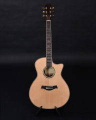 814 handmade solid wood  acoustic guitar,