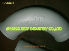 concrete pump elbow