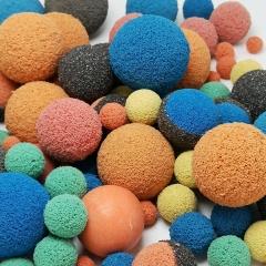 full corundum coated ball