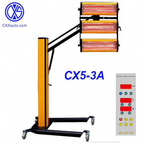 Shortwave infrared paint curing lamp CX5-3A