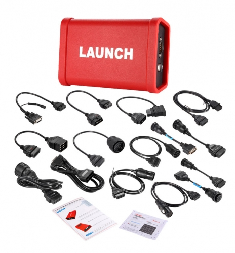 Launch X-431 HD Heavy Duty Truck Diagnostic Module for Use with Launch X431 V+