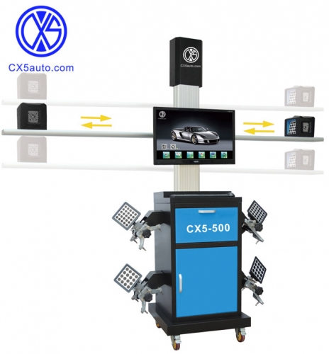 CX5-500 Wheel Alignment 3D Camera Space Wheel Aligner Four Wheel