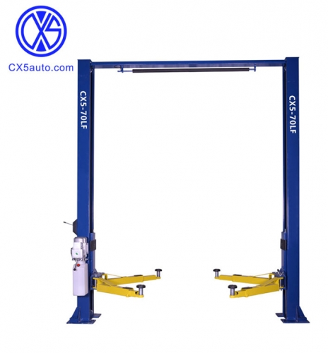 CX5-70LF unilateral unlock 7ton two post car lift
