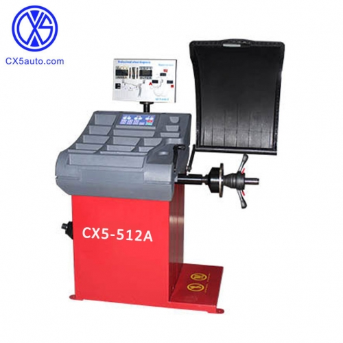 CX5-512A Highly-accurate wheel balancer