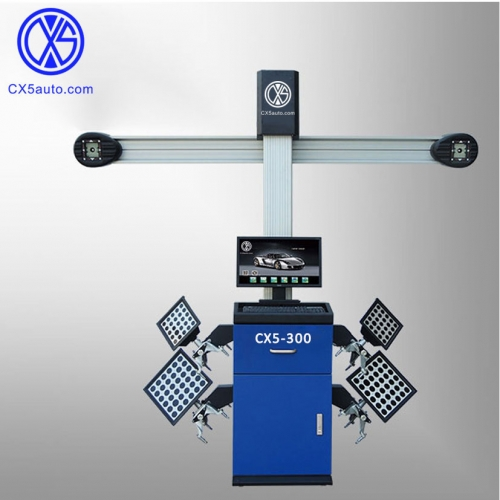 CX5-300 Precise 3D wheel alignment with CE Certificate