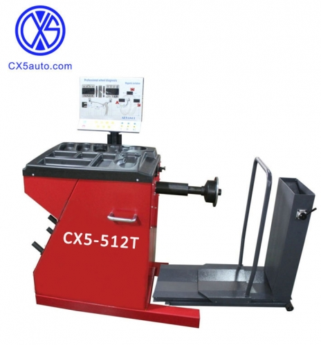 CX5-512T Truck and car  Wheel balancer