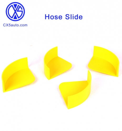 Hose Slide - Ultimate Car Washing Accessory (4 Pack, yellow)
