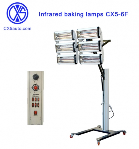 Infrared baking lamps CX5-6F