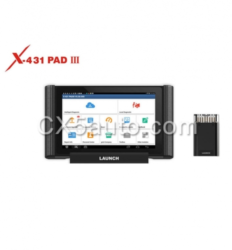 Original LAUNCH X431 PAD III V2.0 Full System Diagnostic Tool with Wifi and Bluetooth 4 .2 Support Coding and Programming