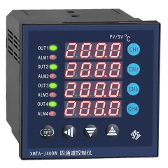 4 channel temperature meter controller