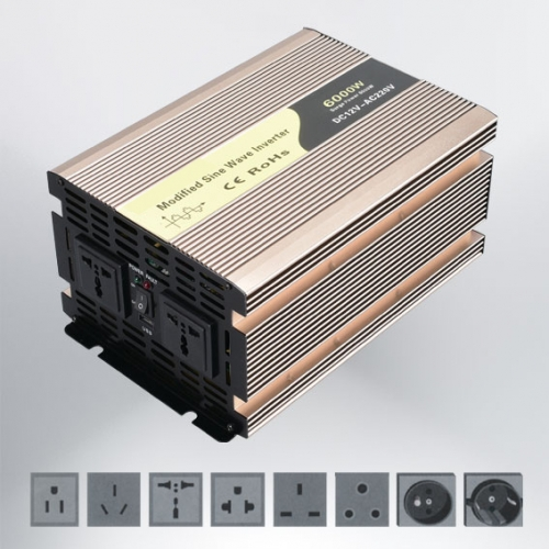 REM-6000W Modified Sine Wave Inverter