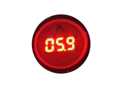 Mini LED amper indicator 0.7-9.9A