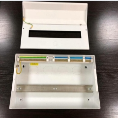 BS standard consumer unit with RCD/SPD