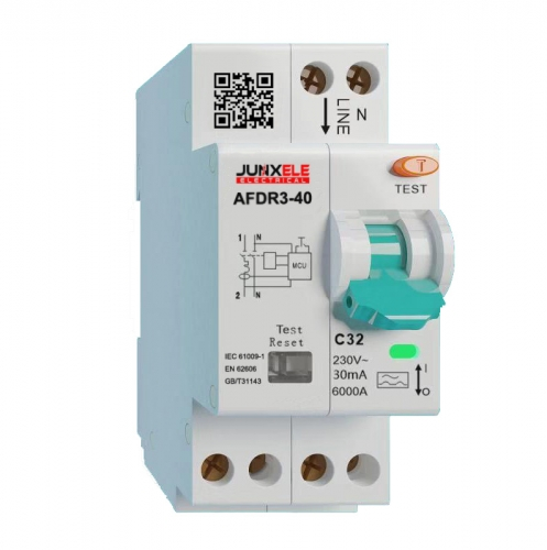 AFDR acr fault detection with RCBO protection