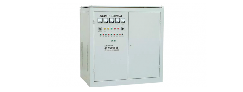 SBW-F: Three-Phase Separately-Regulating Electric Voltage Regulator