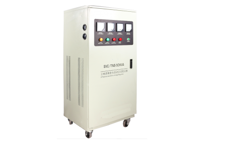 TNS-50KVA Three Phase High-Precision Full Automatic AC Voltage Regulator