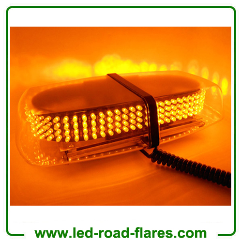 240Led Car LED Strobe Flashing Light Traffic Emergency Warning Strobe Beacon Light Bar Hazard Strobe Warning Lamp Clear Amber