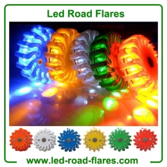 16 Led Road Flares Rechargeable China Led Road Flares Manufacturer Factory and Supplier