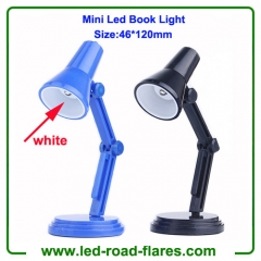 Mini Led Book Light Clip Led Mini Desk Light Black Blue