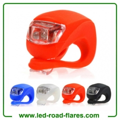 LED Silicone Bicycle Lights LED Bike Tail Lights LED Bicycle Light Flash Rear Lights