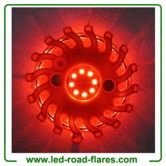 Rechargeable Led Road Flares Safety Lights 24 Led Safety Flares Lights