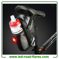 Bicycle Bike Handlebar Bottle Bag Frame Bag Frame Phone Bag Bike Water Bottle Saddle Bag With Tail Light and Pocket