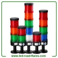 Led Stack Lights 110V/220V Led Andon Lights With Buzzer 12V/24V Tri Color Led Tower Lights Lamps