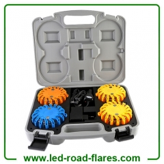4-Packs Rechargeable Led Road Flares Safety Flares Led Warning Lights