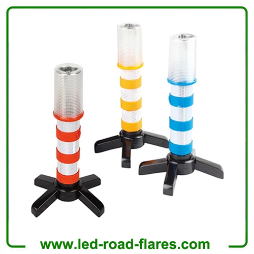 Led Car Emergency Road Flares Led Roadside Flares Safety Beacon Hazard Warning Strobe Light