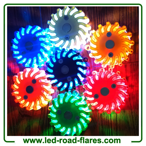 Led Safety Flares Kit Rechargeable Led Safety Flasher