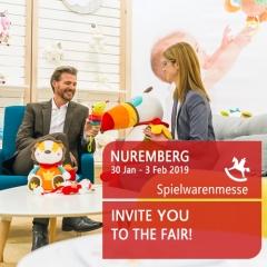 Spielwarenmesse  Nuremberg 2019