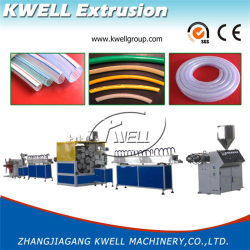 heavy duty flexible garden water hose extrusion manufacturing machine