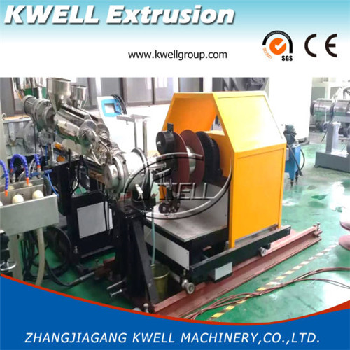 flexible pvc steel wire tube extruder machine
